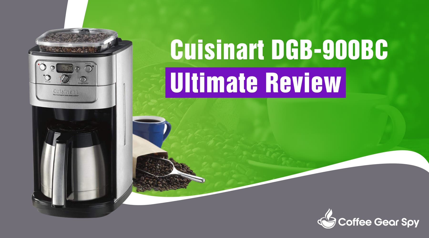 Cuisinart DGB-900BC Coffee Maker Review