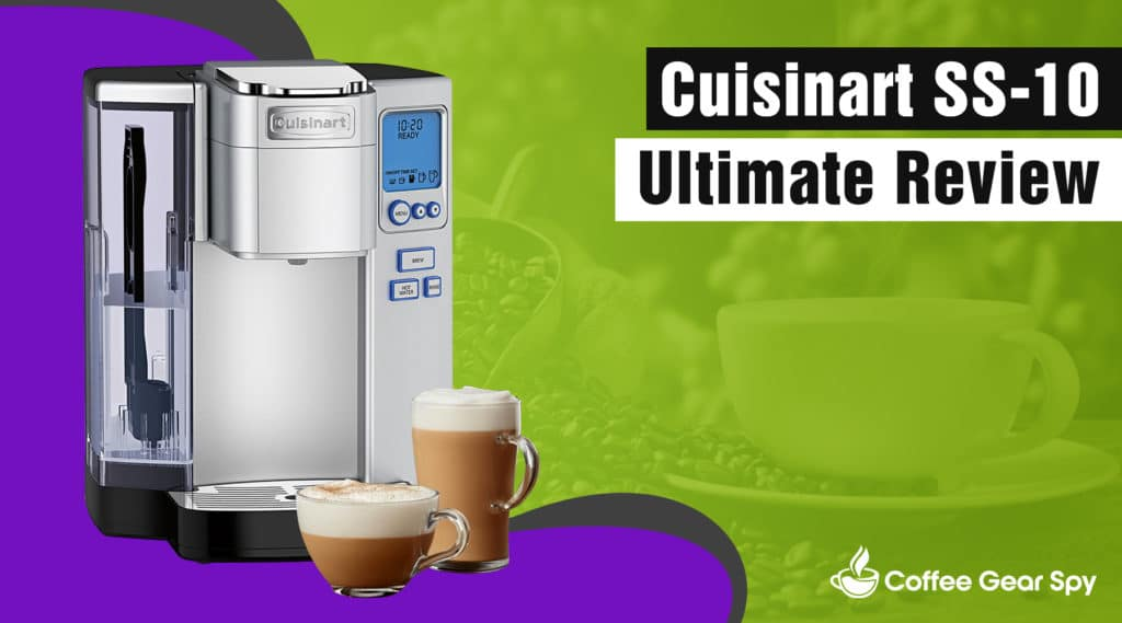 Cuisinart SS-10 Coffee Maker Review