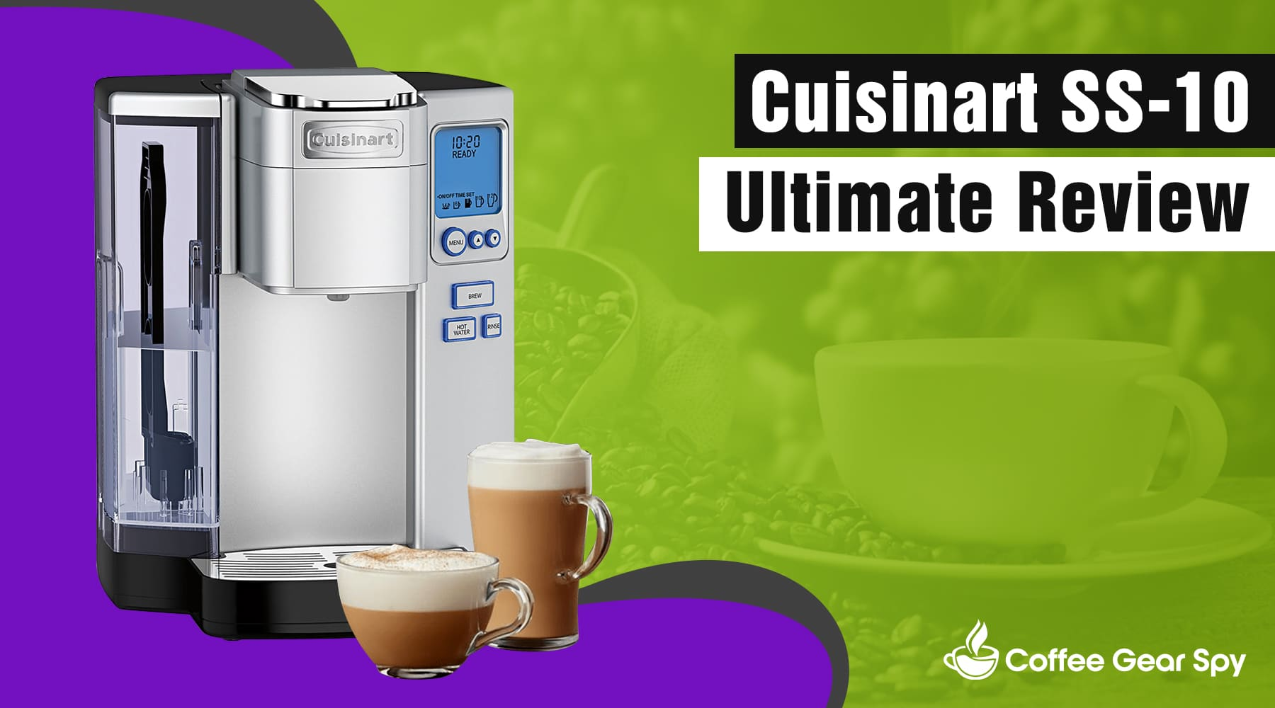 Cuisinart Ss 10 Coffee Maker 2020 Review Smart Sexy