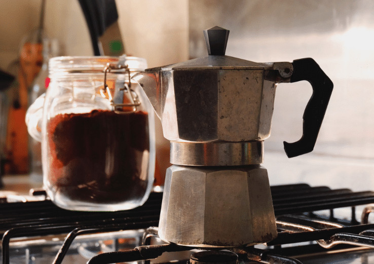moka pot coffee machine