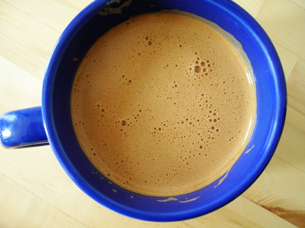 butter coffee called keto coffee