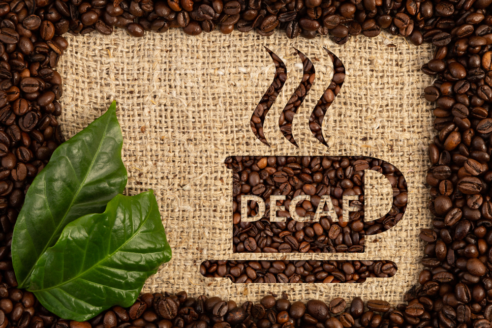 how much caffeine in decaf coffee